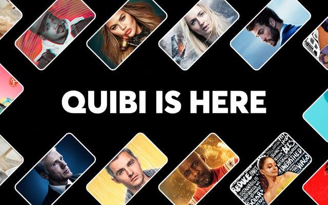 Quibiは現在ドライブインムービーを行っています—どれ、何ですか?
