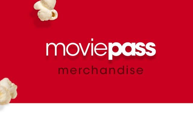 MoviePass está vendiendo merchandising ahora, lo que definitivamente cambiará las cosas
