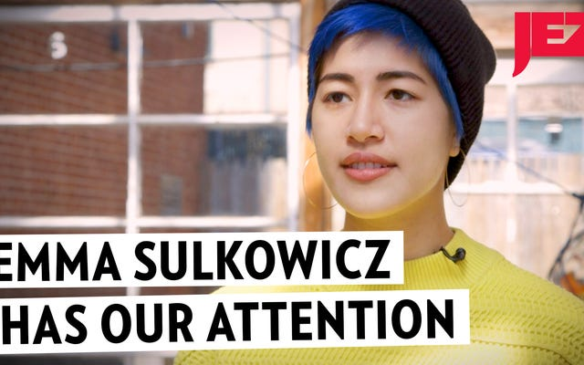 EmmaSulkowiczはまだ私たちの注意を払っています