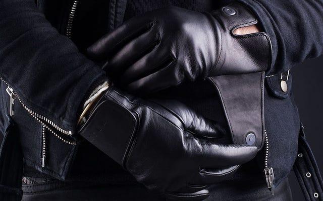 Les meilleurs gants en cuir à écran tactile