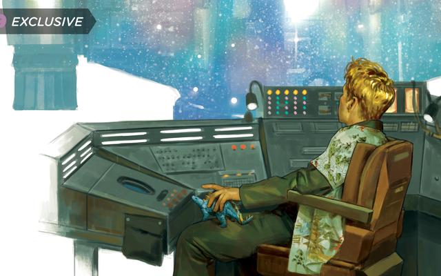 新しいホタルグラフィックノベルは、ウォッシュの生、死、そして来世を探求します