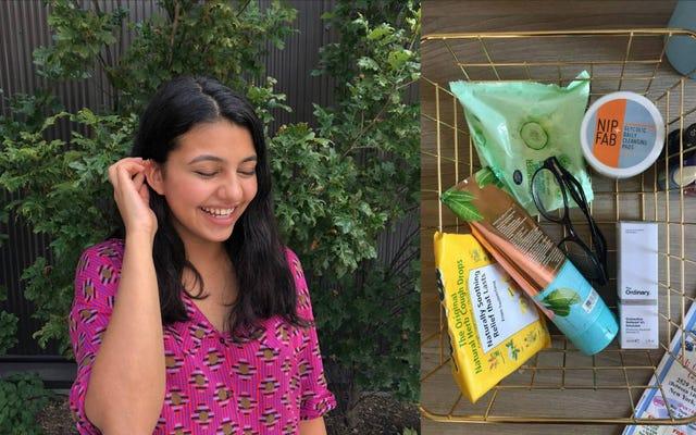 シーナの24時間製品日記:私はクールな女の子になろうとしています
