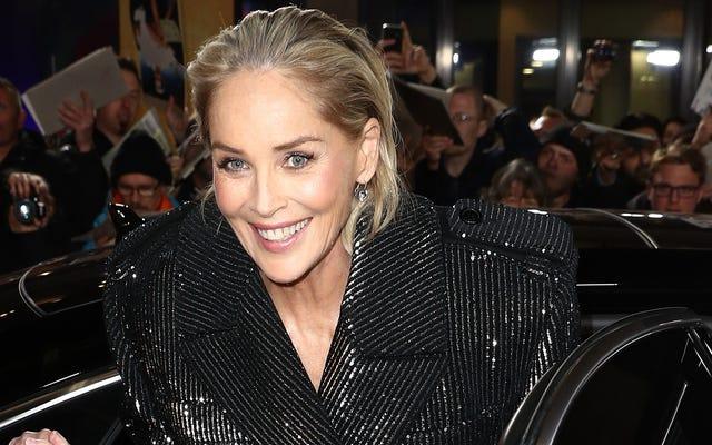 Sharon Stone a été bloquée de Bumble, tout comme nous