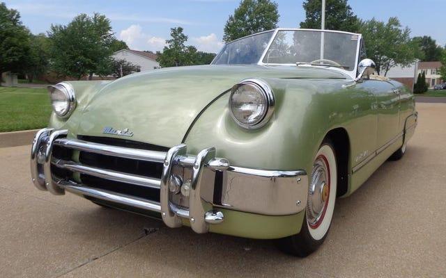 मुंटज जेट अपने समय की सर्वश्रेष्ठ अमेरिकी कार थी
