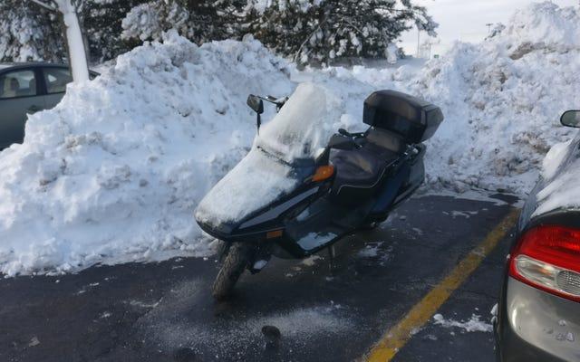 Le Québec a autrefois proposé d'interdire la motocyclette en hiver et cela a du sens