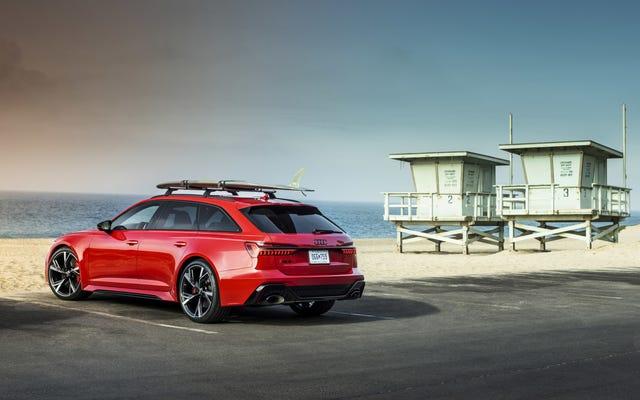 आप $ 109,995 के लिए अपने ड्राइववे में 2021 ऑडी आरएस 6 अवंत को पार्क कर सकते हैं