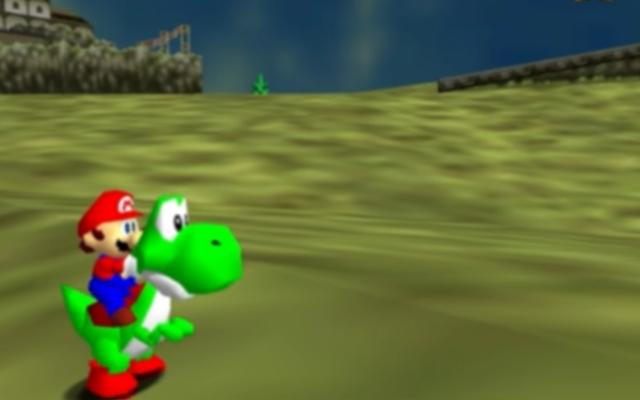 一部のマニアックは、スーパーマリオ64と時のオカリナを単一の一貫したビデオゲームに融合しました
