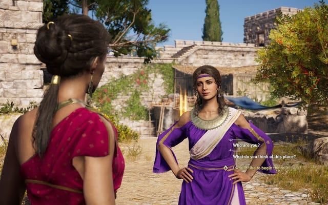 Assassin's Creed Odyssey's Discovery Tour Mode umożliwia jazdę na jednorożcu i rozwiązywanie quizów