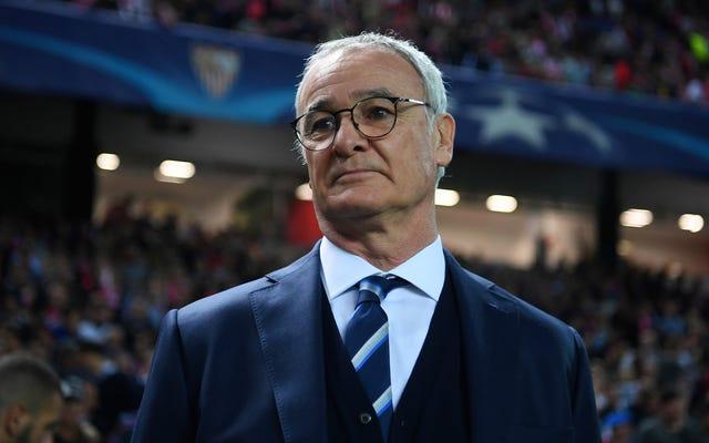 Leicester City đã sa thải HLV từng đoạt danh hiệu Claudio Ranieri