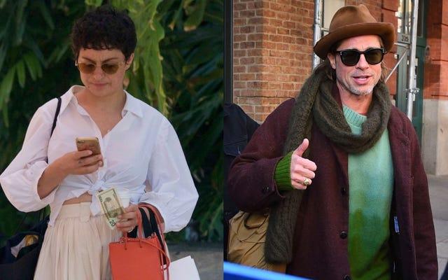 Brad Pitt ve Alia Shawkat, Merak Ediyorsanız Hala Çıkmıyorlar