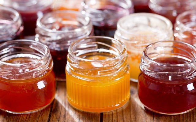 ¿Cuál es la diferencia entre mermeladas, jaleas, mermeladas, conservas y compotas?