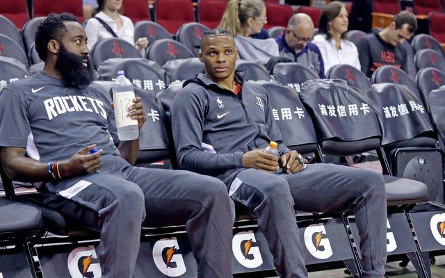 Jeśli Westbrook i Harden chcą wyjechać z Houston, jest jedno miejsce, do którego powinni się udać