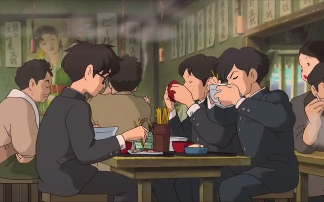 Почему аниме-еда Studio Ghibli всегда выглядит так вкусно