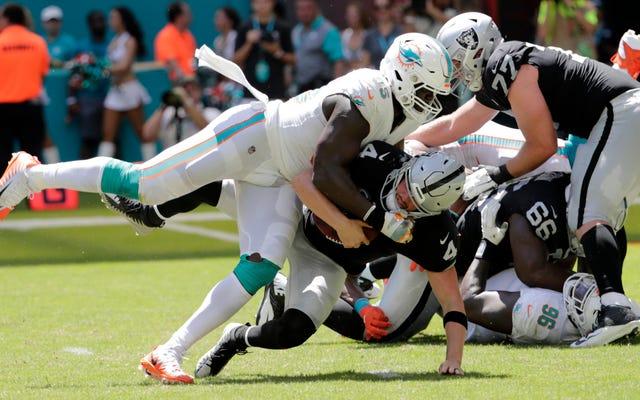NFLの愚かな新しい大まかな通行人のルールはウィリアムヘイズのシーズンを犠牲にしました