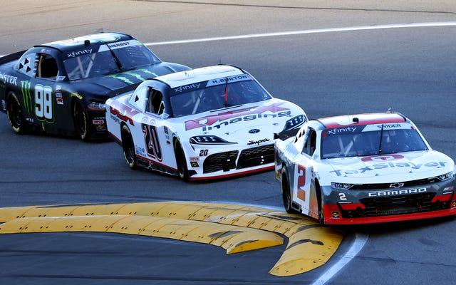NASCARロードコースレースには注意の問題があります