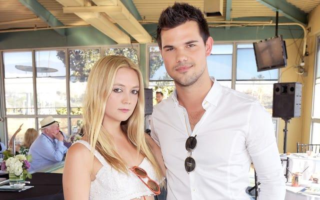 Tahukah Anda Billie Lourd dan Taylor Lautner Berkencan?
