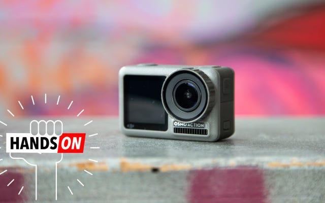 Osmo Action:DJIの新しいアクションカメラはGoProを破壊するように設計されています