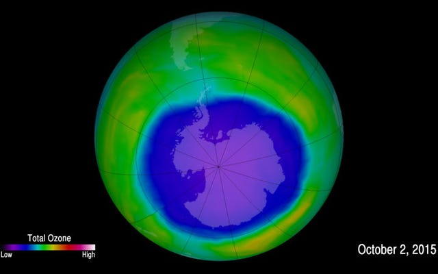 Salvar la capa de ozono de la Tierra fue incluso mejor de lo esperado