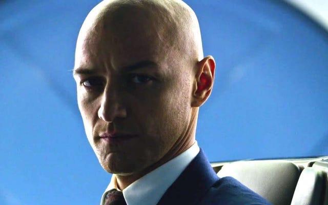James McAvoy phát ốm vì trông như một 'gã đầu trọc' để tiếp tục làm phim X-Men
