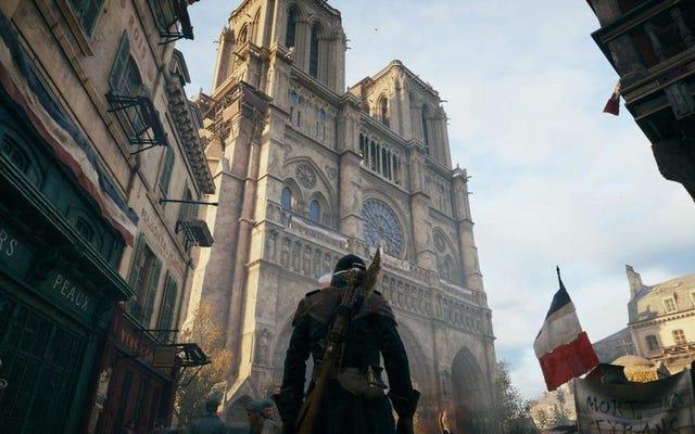 ผู้ใช้ Steam ท่วม Assassin's Creed Unity ด้วยคำวิจารณ์เชิงบวกตามความพยายามของ Notre-Dame ของ Ubisoft