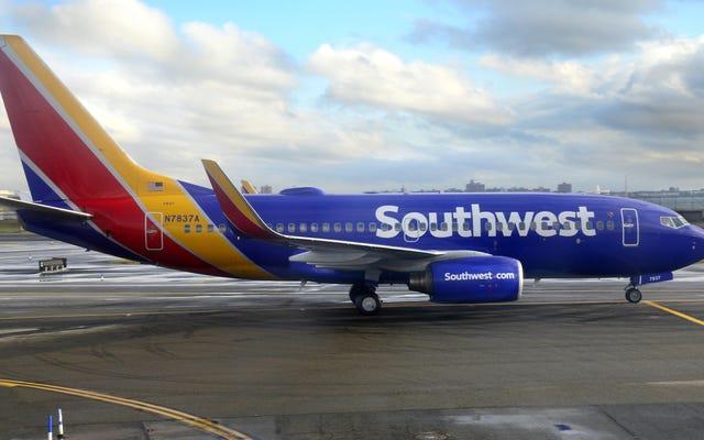 दक्षिण पश्चिम में इस सप्ताह $ 49 से शुरू होने वाली बिक्री पर उड़ानें हैं