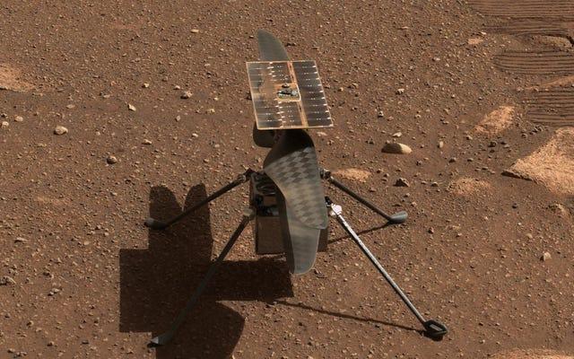 3番目の日付の魅力(多分):NASAは月曜日に火星で最初の創意工夫の飛行を再スケジュールします