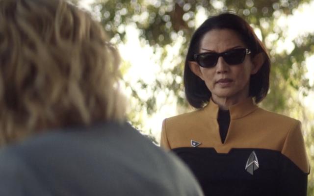 Star Trek: Picard's Showrunner otwiera informacje o okularach przeciwsłonecznych i przekleństwach