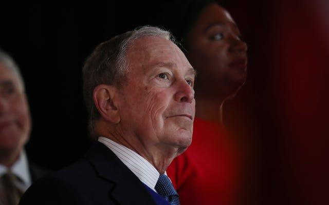 Mike Bloomberg nie zaprzestał eksportu ropy z jakiegoś dziwnego powodu