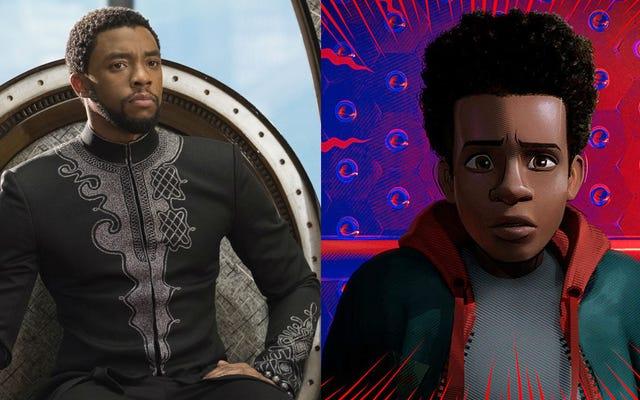 Spider-Verse y Black Panther obtuvieron algo de oro en los Premios de la Academia 2019