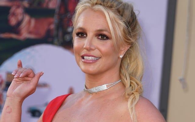 ब्रिटनी स्पीयर्स ने आखिरकार फ्रेमन ब्रिटनी स्पीयर्स डॉक को संबोधित किया है (या वह है?)