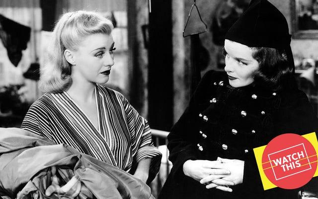 Katharine Hepburn ve Ginger Rogers, çok gevşek bir sahne uyarlamasıyla ad-lib yolundalar