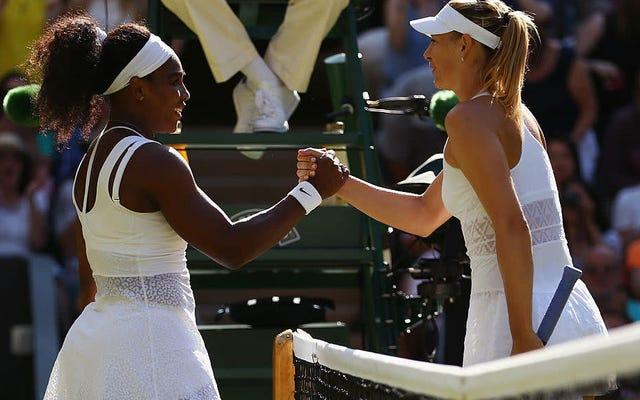 Sta finalmente succedendo: Serena Williams affronterà Maria Sharapova agli US Open per la prima volta