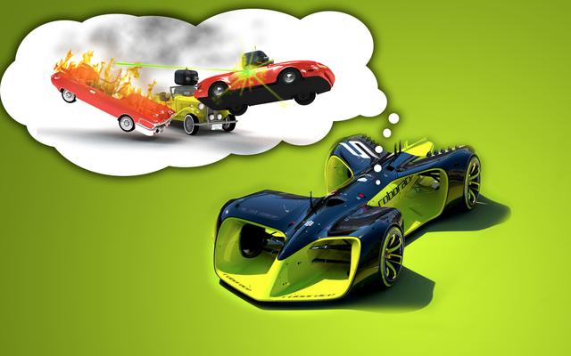 Otonom Araba Yarışını Nasıl İlginç Hale Getireceğimi Biliyorum: Birbirlerini Patlatmalılar