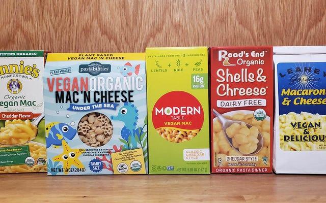 Bisakah mac dan keju vegan dalam kotak memberikan semua kenyamanan Kraft?