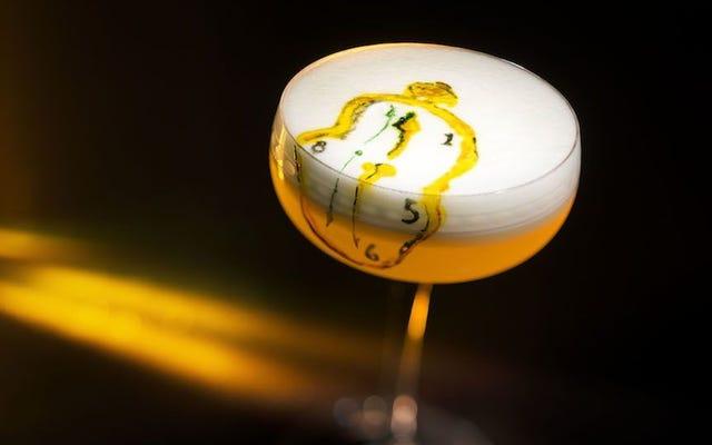 Даже не думайте испортить эти вдохновленные искусством коктейли, выпив их