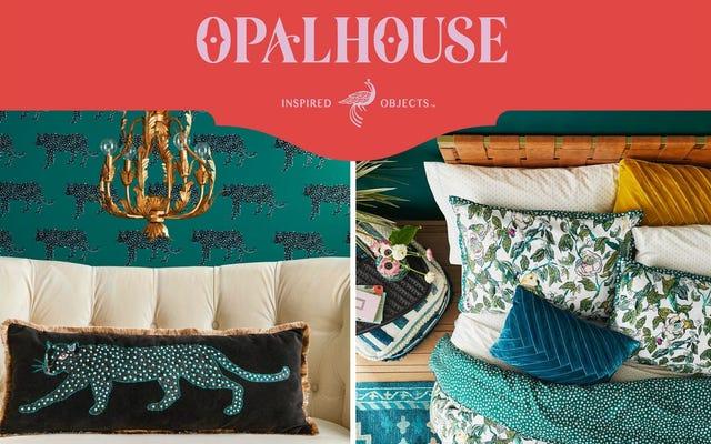 オパールハウスは、ターゲットのインテリアデザインへの最初のインスピレーションあふれる進出です