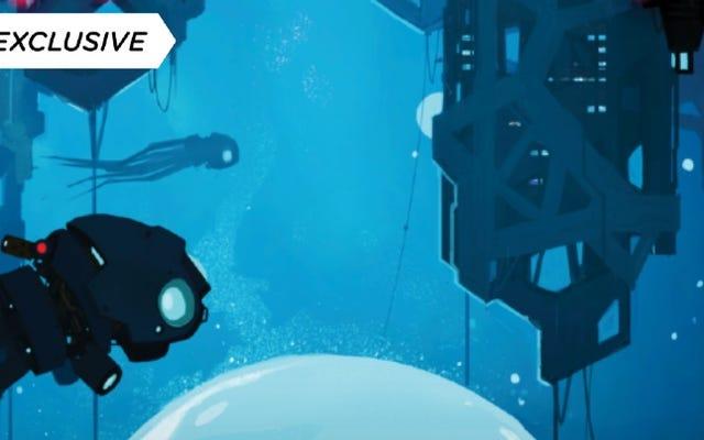 Кеды 22-го века делает мрачное открытие, впервые взглянув на Sci-Fi Noir Midnight, Water City