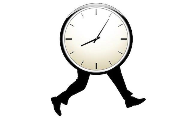 Arrivez tôt pour impressionner votre patron, mais ne restez pas en retard