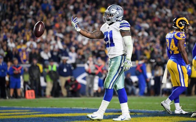 Lequel des cinq holdouts de la NFL a le plus d'effet de levier?