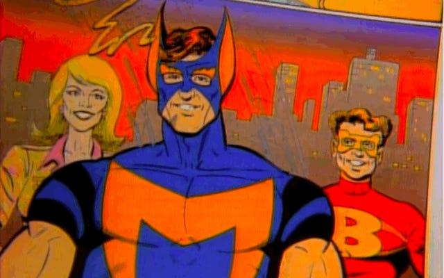 1992年、ボブニューハートは、スーパーヒーローが暗くなりすぎてザラザラになることについてのテレビ番組を制作しました