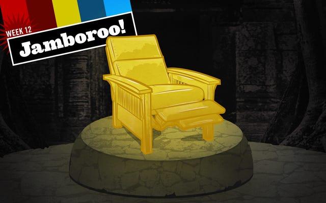 Hołd dla mojego krzesła na Święto Dziękczynienia