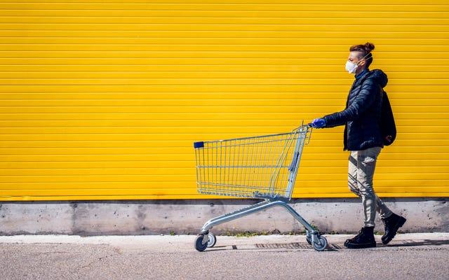 Googleマップを使用して、食料品店と薬局の混雑が最も少ない時期を確認します