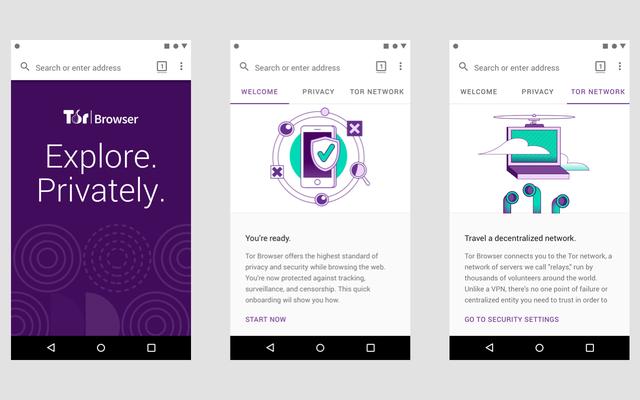 Le navigateur Web Tor débarque officiellement sur Android en Alpha