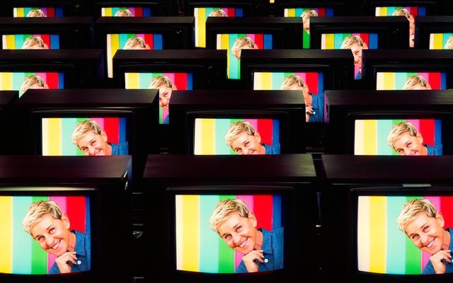 Sự ra đời của Ellen DeGeneres, Người đẹp nhất trên Truyền hình