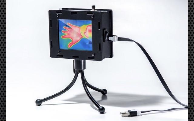 Эта тепловизионная камера своими руками выявляет горячие и холодные пятна в доме, создавать ее весело