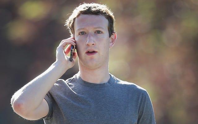 Facebook era pienamente consapevole del fatto che tenere traccia di chi chiama e invia messaggi di testo è inquietante, ma lo ha fatto comunque