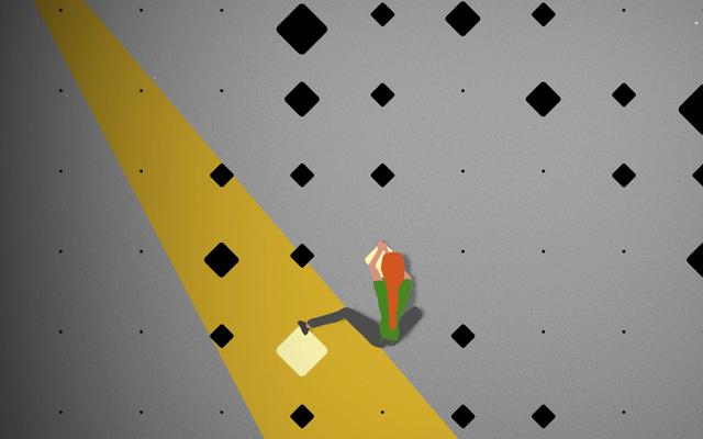 モバイルゲームのCruxを使用すると、ジムに行かなくてもロッククライミングができます