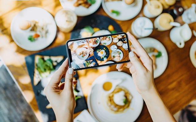 Ahora puedes comer algo de la hermosa comida cheffy que ves en Instagram