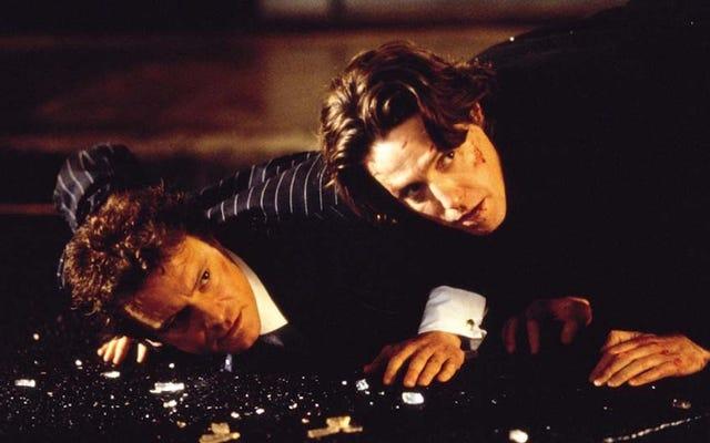 新しいブリジット・ジョーンズの映画のセットで、ヒュー・グラントをそれほど見逃しているように見える人は誰もいません