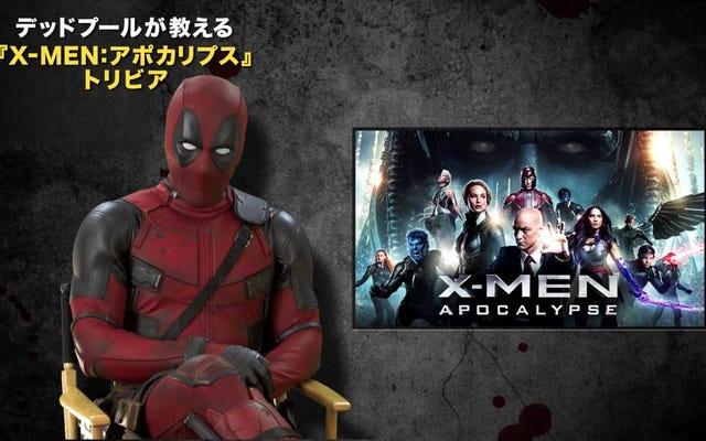 Deadpool porywa japoński zwiastun X-Men: Apocalypse, aby dostarczyć chorego poparzenia na Fox